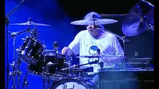 "IAN PAICE - AMAZING ""THE MULE"" DRUMS SOLO + FIREBALL Italian Deep Purple Tribute"