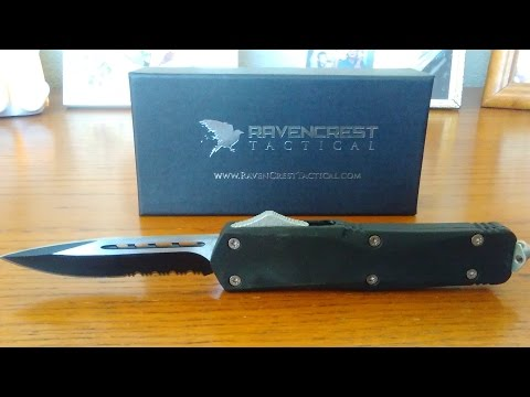 Ravencrest Tactical OTF Knife Review (Automatic Knife)
