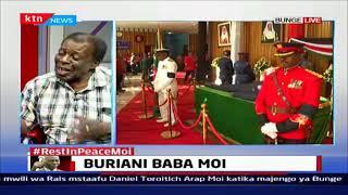 Leonard Mambo Mbotella aelezea uhusiano wako na hayati mzee Moi