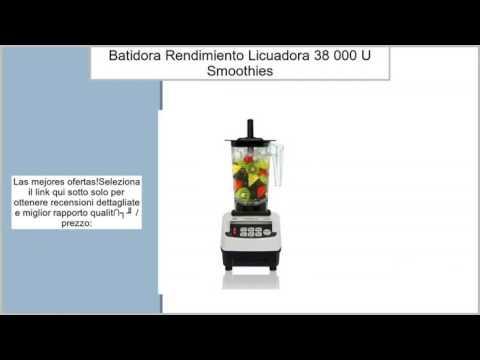 JTC Omni Blend batidora Color Blanco, de alto rendimiento Licuadora, Blender 1,5L, 38.000