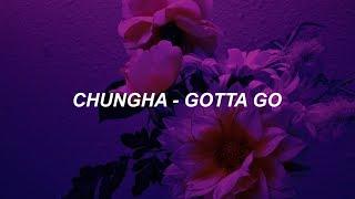 """청하 (CHUNG HA) - """"벌써 12시"""" (GOTTA GO) Easy Lyrics"""