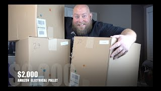 I Paid $160 for $1,979 of MYSTERY Electronics & Tech + Amazon Customer Returns Pallet Unboxing