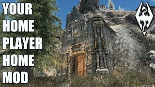 YOUR HOME: Huge Collectors Home Mod- Xbox Modded Skyrim Mod Showcase