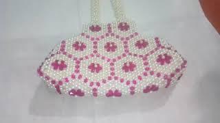 New beaded bag design 👛👛