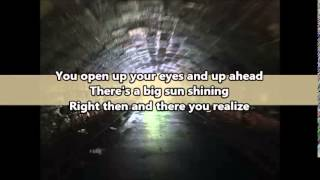 Hope In Front Of Me by Danny Gokey Lyrics on Screen