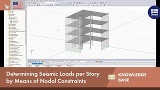 KB 001594 | Determining Seismic Loads per Story by Means of Nodal Constraints