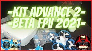 BetaFPV Meteor75 MINI Whoop KIT ADVANCE 2 CONECTAR DRON A MANDO FORMA CORRECTA DE ARMAR MOTORES 2021