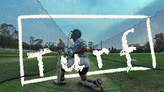 1st Batting on Fresh Turf Nets 2020- GoPro Batting  ||P'sCTV19||(Ep27)