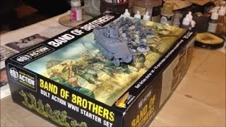 SWS Hobby Vlog   Bolt Action 2nd Edition Band of Brothers From Box to Table Part 4   The Ruined Town