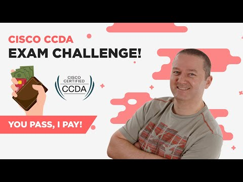 Cisco CCDA Exam Challenge 2019 (You Pass I Pay) - YouTube