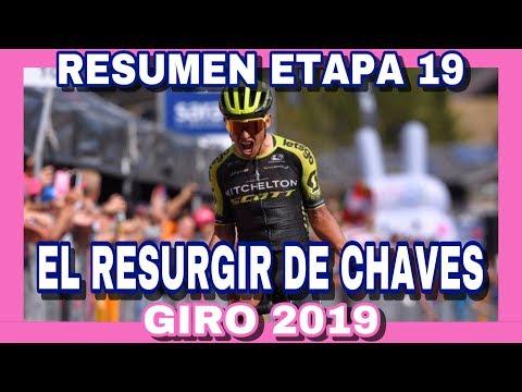 RESUMEN ETAPA 19 GIRO DE ITALIA 2019 🇮🇹