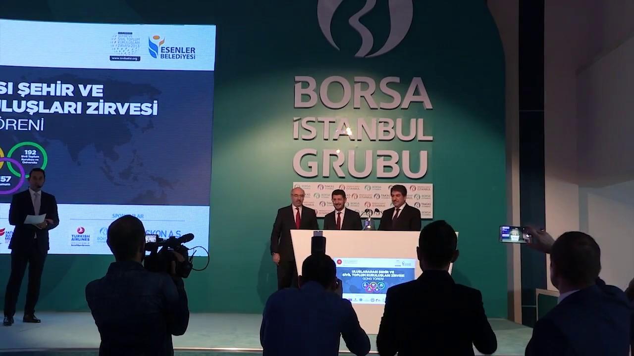 Borsa İstanbul Gong Töreni