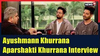 Ayushmann Khurrana & Aparshakti Khurrana Interview by Rajeev Masand