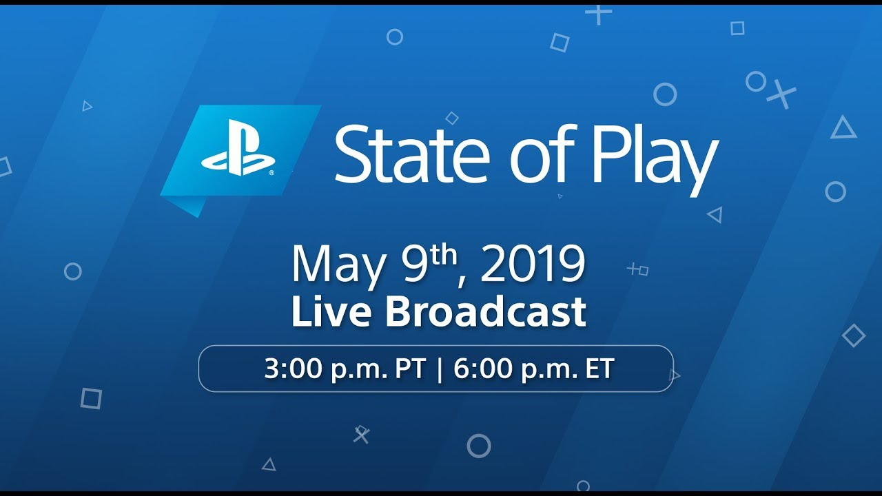 State of Play: Watch Live at 3pm Pacific