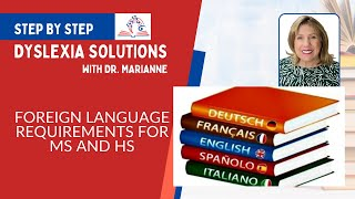 Dyslexia - Learning a Foreign Language if you are Dyslexic   10 min 19 sec