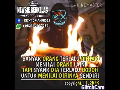 QUOTES SINDIRAN BUAT TEMEN BANGS*T BY:RZKY ORLNDHO#92