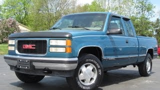 1998 GMC 1500 SLE 4x4 5.7L 350CI Z-71 Extended Cab SOLD!!!