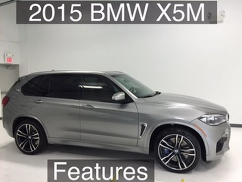 2015 BMW X5 M Donington Grey features Houston Texas