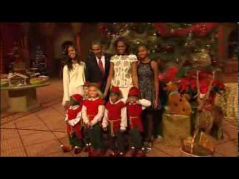 Obama, First Family Attends Annual