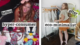 how consumerism RUINED my life... debt, stealing, and self worth