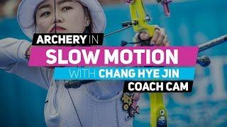 Archery in slow motion S01E05 BONUS: Chang Hye Jin (Coach Cam)