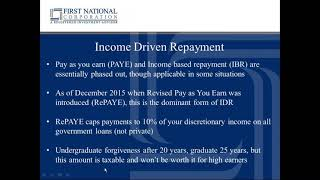 Game of Loans: Income Based Repayment Options vs Refinancing