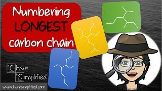 How to count carbons in a chain | How to number carbons - Dr K