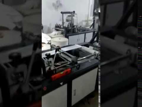 W-Cut Non Woven Bag Making Machine