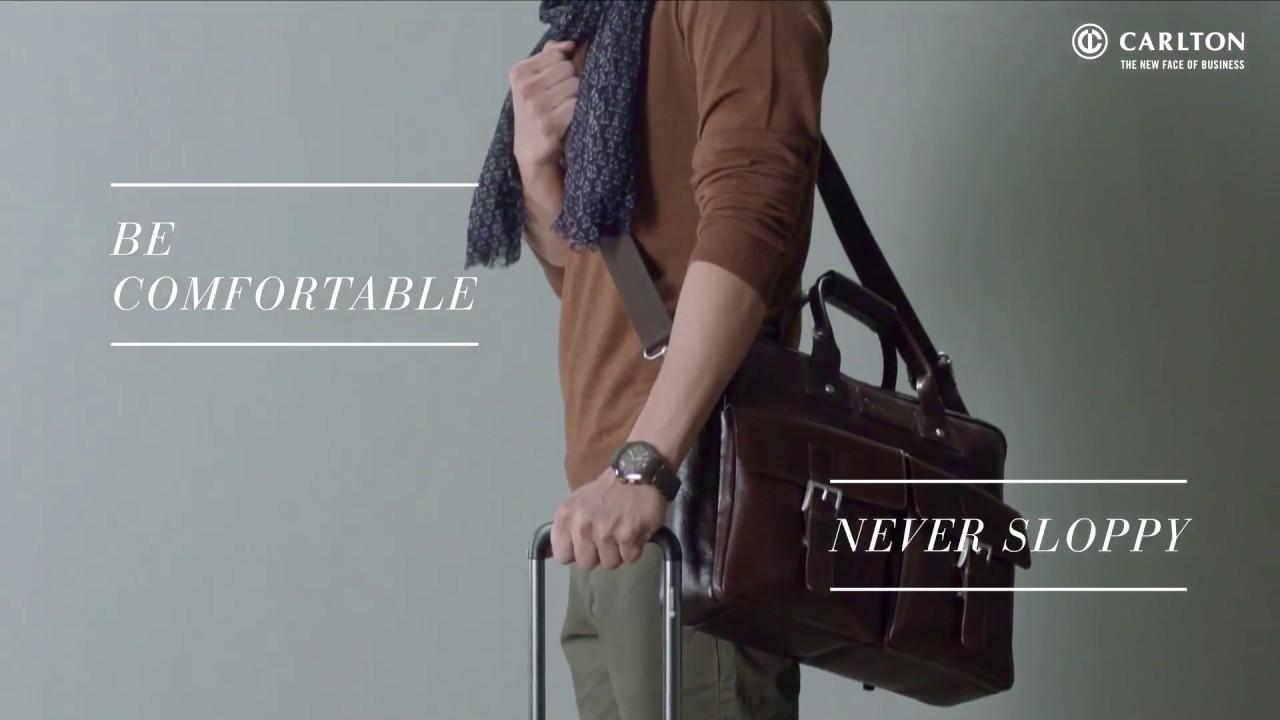 "Carlton Luggage : Fashion Tips - ""The Long Flight Look"""