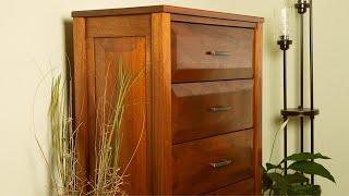 Building A Mahogany Dresser! | Full Build!