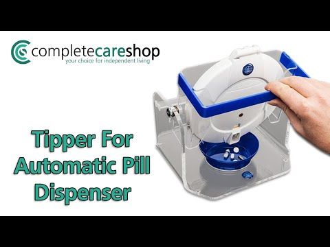 Tipper For Automatic Pill Dispenser - Simple To Use And Aids Stability