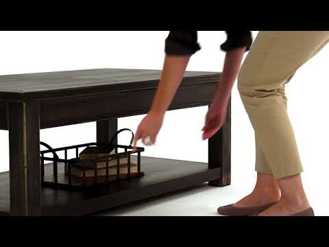 Gavelston T732-1 Rectangular Cocktail Table