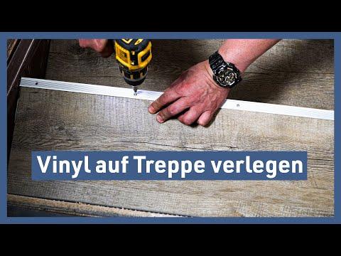 Vinyl auf Treppe verlegen