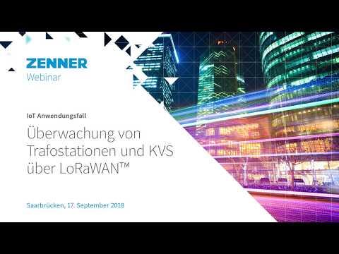 ZENNER Seminarvideo: Überwachung von Trafostationen und KVS