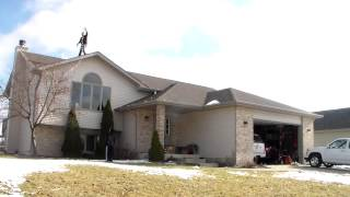 How To Take Down Christmas Light Faster