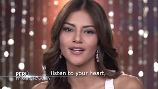 Priscila Stephany Howard Miss Universe Peru 2017 Introduction Video