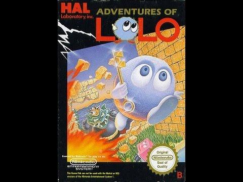 Adventures of Lolo 2 [NES Nintendo Dandy] (1990) прохождение / Walkthrough / Playthrough