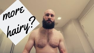 SHOULD MEN SHAVE THEIR CHEST AND BACK HAIR? - BALD GUYS MORE HAIRY?