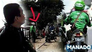 Detik Detik GOJEK Manado Adu Jotos..!!