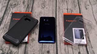 HTC U11 Spigen Case Lineup