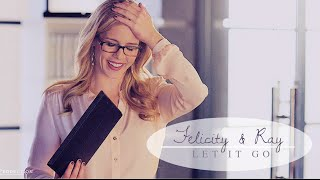 "Сериал ""Стрела"", Felicity & Ray | let it go"