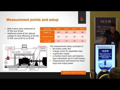 Karkkainen H. - On-Line Synchronous Reluctance Motor Efficiency Verification with Calorimetric Measurements,