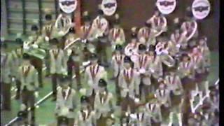 ViJoS Drum en Showband concours Nuenen 1987 Prijsuitreiking en Finale
