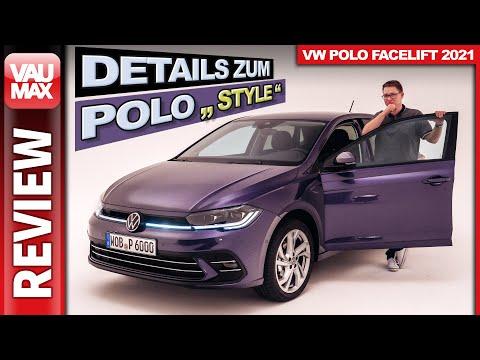 """Neuer VW Polo """"Style"""" - Details zur Top-Ausstattung im Modelljahr 2022"""
