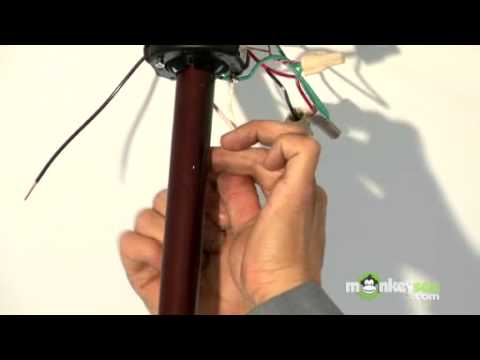 Ceiling Fan Installation - Making the Electrical Connection
