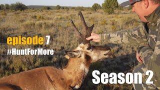 90 inch Pronghorn Antelope *Episode #7