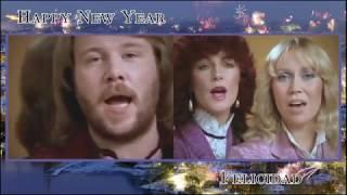 ABBA Happy New Year / Felicidad (side by side)