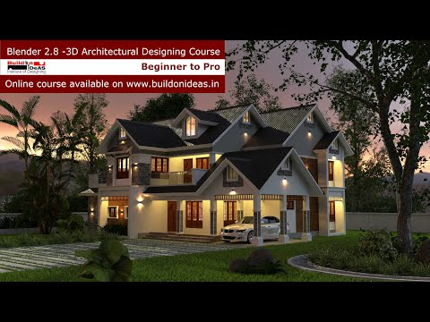Online Blender 2.8 3D Architectural Designing Course from ...