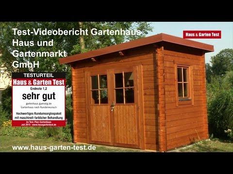 Testvideo: Gartenhaus nach Kundenwunsch