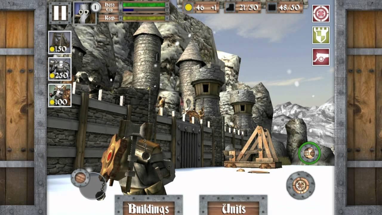 Heroes & Castles Wades Into Castle Defense, Sword Swinging